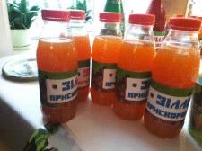 Наклейки до соку (елемент для дня народження)