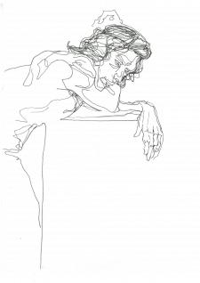 Линейная зарисовка 2