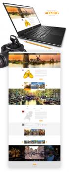 сайт туристического блога
