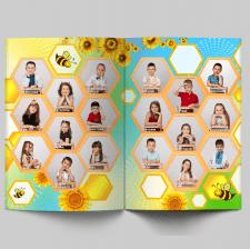 Дизайн виньетки для детского садика