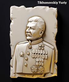 Модлель Сталина для магнита сувинира
