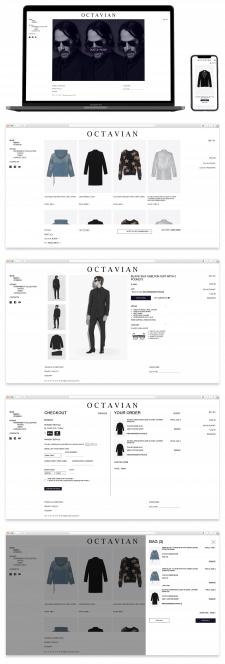 Дизайн для брендового премиум магазина-ателье