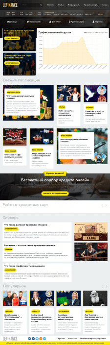 Создание новостного сайта под ключ