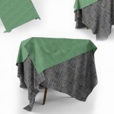 Столик с драпировками