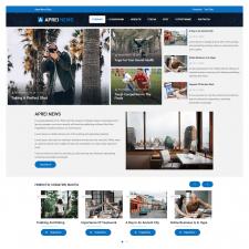 Настройка шаблона WordPress, сайт блога, новостей