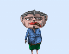 векторний персонаж