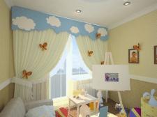 Рекомендации по выбору штор в интерьер детской