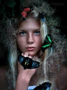 Цветокоррекция и ретушь портрета
