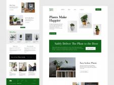 Сайт Happy Plants