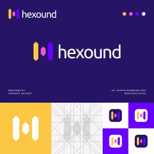 Geometric H Letter Logo