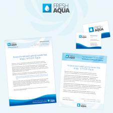 Фирменный стиль компании Fresh-Aqua