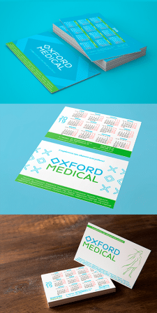 Календарі для Oxford Medical