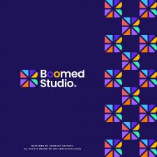 Boom B Letter Logo