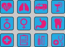 """иконки на тему """"медицина"""""""