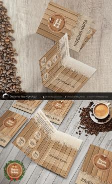 Дизайн буклета кофейни