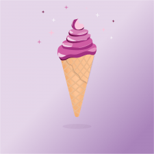 """Ілюстрація """"Морозиво"""""""