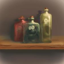 Змеи в бутылке