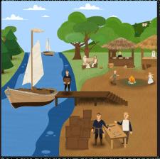 Иллюстрация для мультфильма