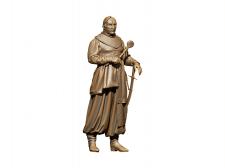 Проект 3d памятника Петру Калнашевскому.