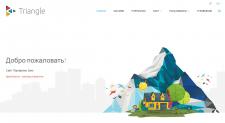 Сайт-портфолио на Yii2