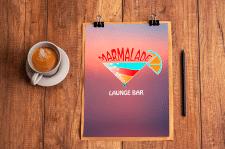 Логотип для лаунж - бара