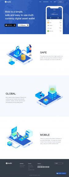 Создание сайта мобильного приложения
