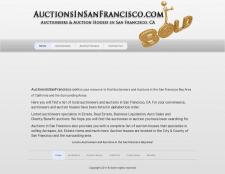Сайт аукционов в Сан-Франциско