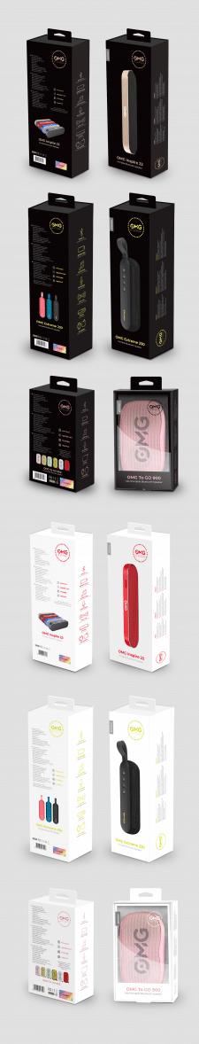 Упаковка для портативных колонок OMG