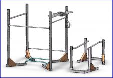 Модель для спортивной площадки
