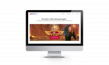 Адаптивний сайт компанії з продажу ігор