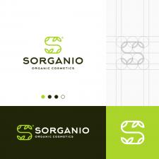 Organic S Letter Logo