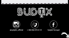 Дизайн визитки Budux