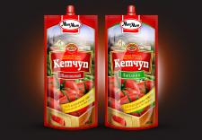Концепт упаковки кетчупа, ТМ Мак-Май