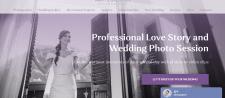 Дизайн landing page для свадебного фотографа