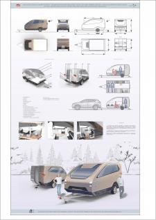 Прицепной авто модуль (трейлер)