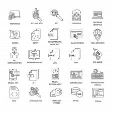 Иконки - программирование