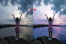 Цвето-коррекция фото