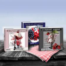 Дизайн обложек для кулинарных книг