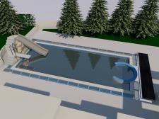 бассейн в ArchiCad