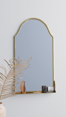 Evey Shelved Mirror