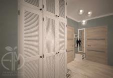 Дизайн прихожей в двухкомнатной квартире в Киеве