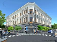 Реставрація фасадів м.Коломия  вул.Театральна, 35