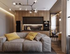 Проект квартири для молодоі пари м. Харків