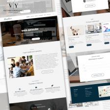 Дизайн сайта студии графического дизайна