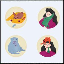 Иконки-иллюстрации для сайта