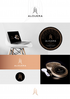 логотип и этикетка для компании, производящей икру