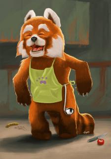 Огненная панда