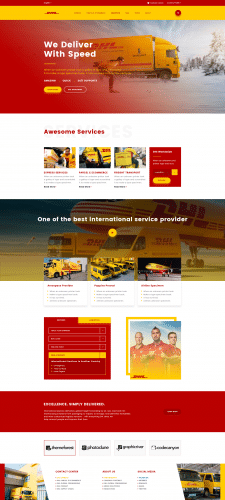 Deliver Website