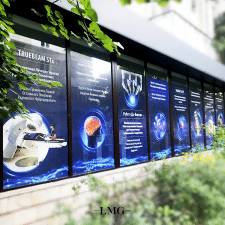 Window branding for  Liv Hospital