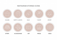 Иконки для инстаграм историй